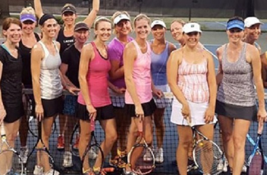 South Charlotte Womens Social Tennis